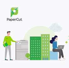 PaperCut Easy print management that lets you hit the ground running with full tracking, visibility, and more