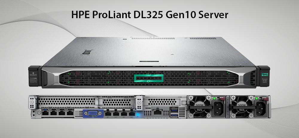 سرور پرولینت نسل 10 مدل dl325