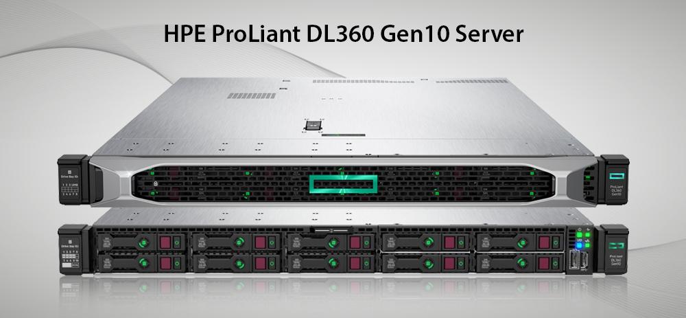 سرور پرولینت نسل 10 مدل dl360