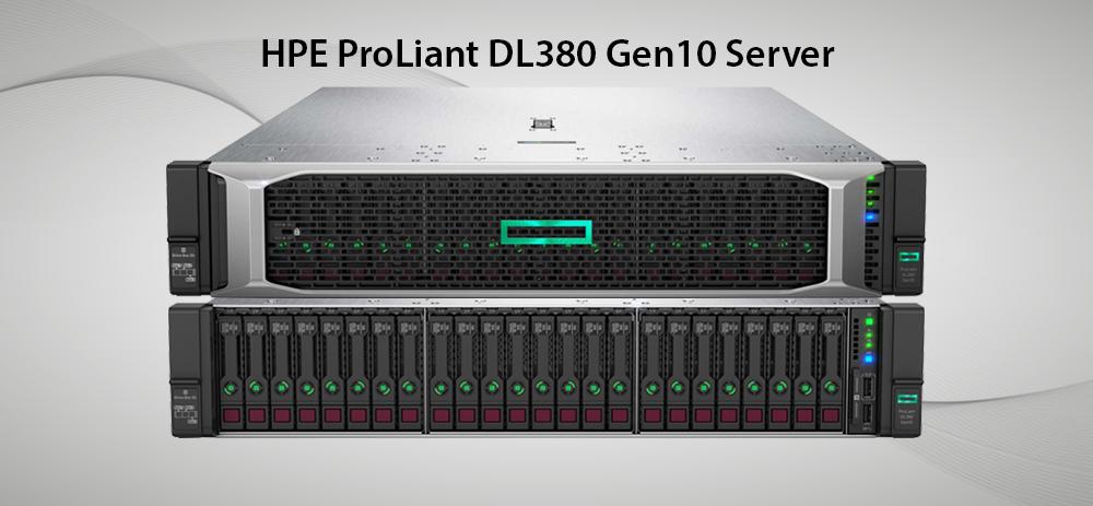 سرور پرولینت نسل 10 مدل dl380