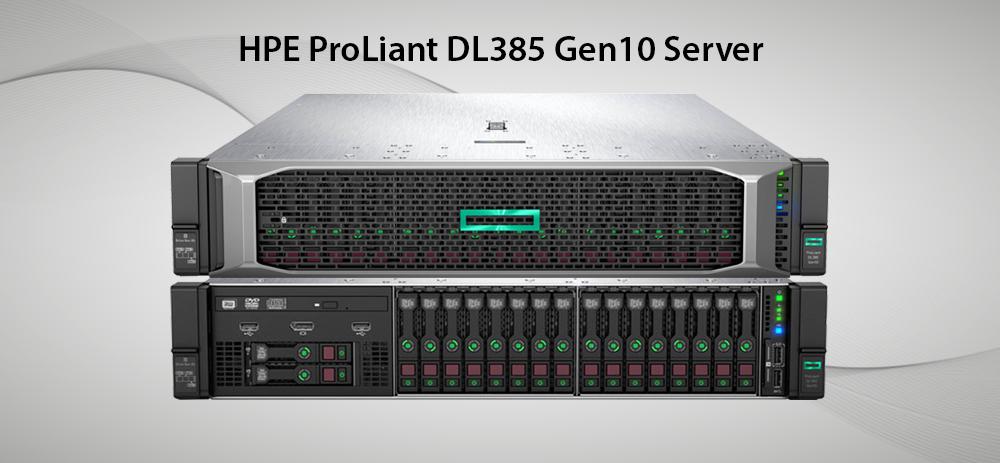 سرور پرولینت نسل 10 مدل dl385
