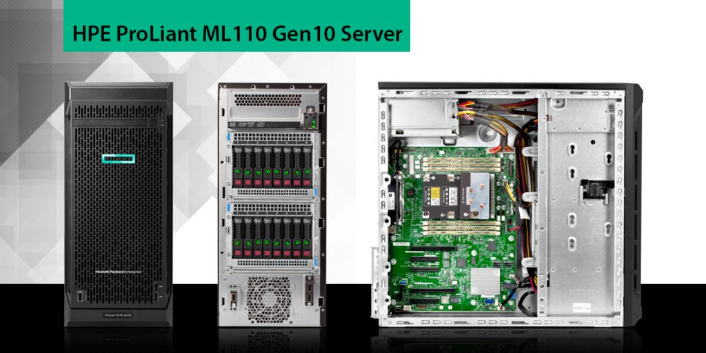 سرور پرولینت tower نسل 10 مدل ml110