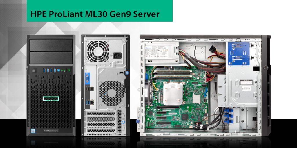 سرور اچ پی ای tower نسل 9 مدل ml30