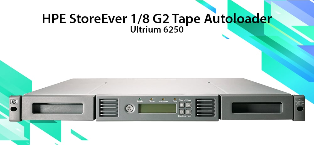 HPE StoreEver MSL Entry-level Tape Automation