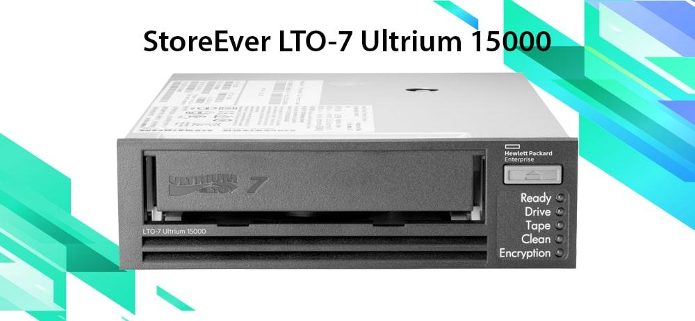 درایو نواری اچ پی StoreEver LTO-7 Ultrium 15000